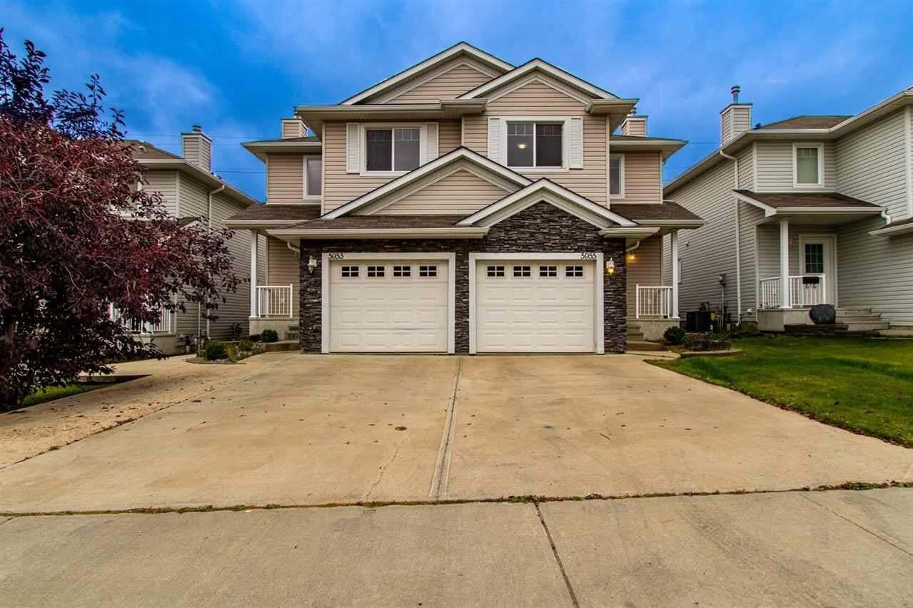 Townhouse for sale at 5955 164 Av NW Edmonton Alberta - MLS: E4214173