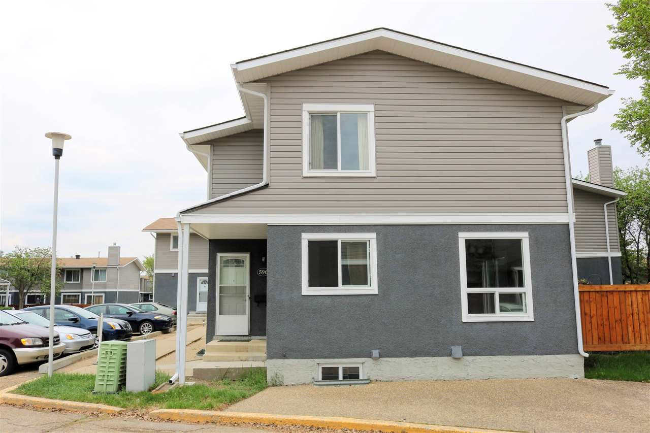 For Sale: 596 Lakewood Road, Edmonton, AB | 2 Bed, 1 Bath Condo for $164,999. See 19 photos!