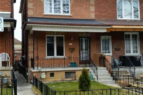 Townhouse for rent at 597 St Clarens Ave Toronto Ontario - MLS: W4732547