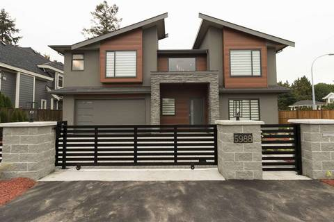 House for sale at 5988 Gibbons Dr Richmond British Columbia - MLS: R2409630