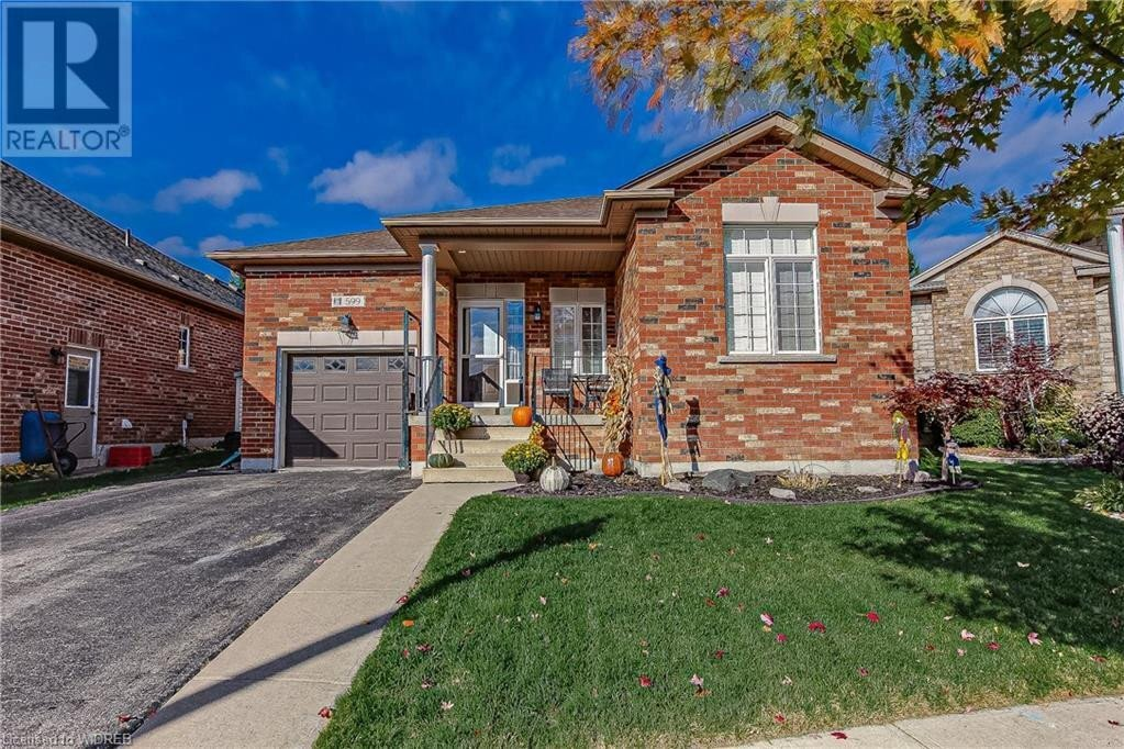 House for sale at 599 Fox Hollow Ct Woodstock Ontario - MLS: 40033318