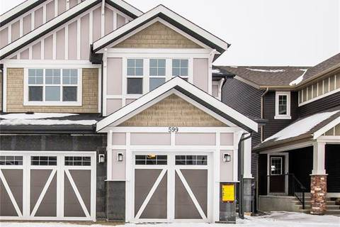 Townhouse for sale at 599 Kingsmere Wy Southeast Airdrie Alberta - MLS: C4282962
