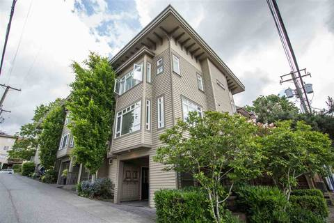 Townhouse for sale at 119 6th St E Unit 6 North Vancouver British Columbia - MLS: R2413940