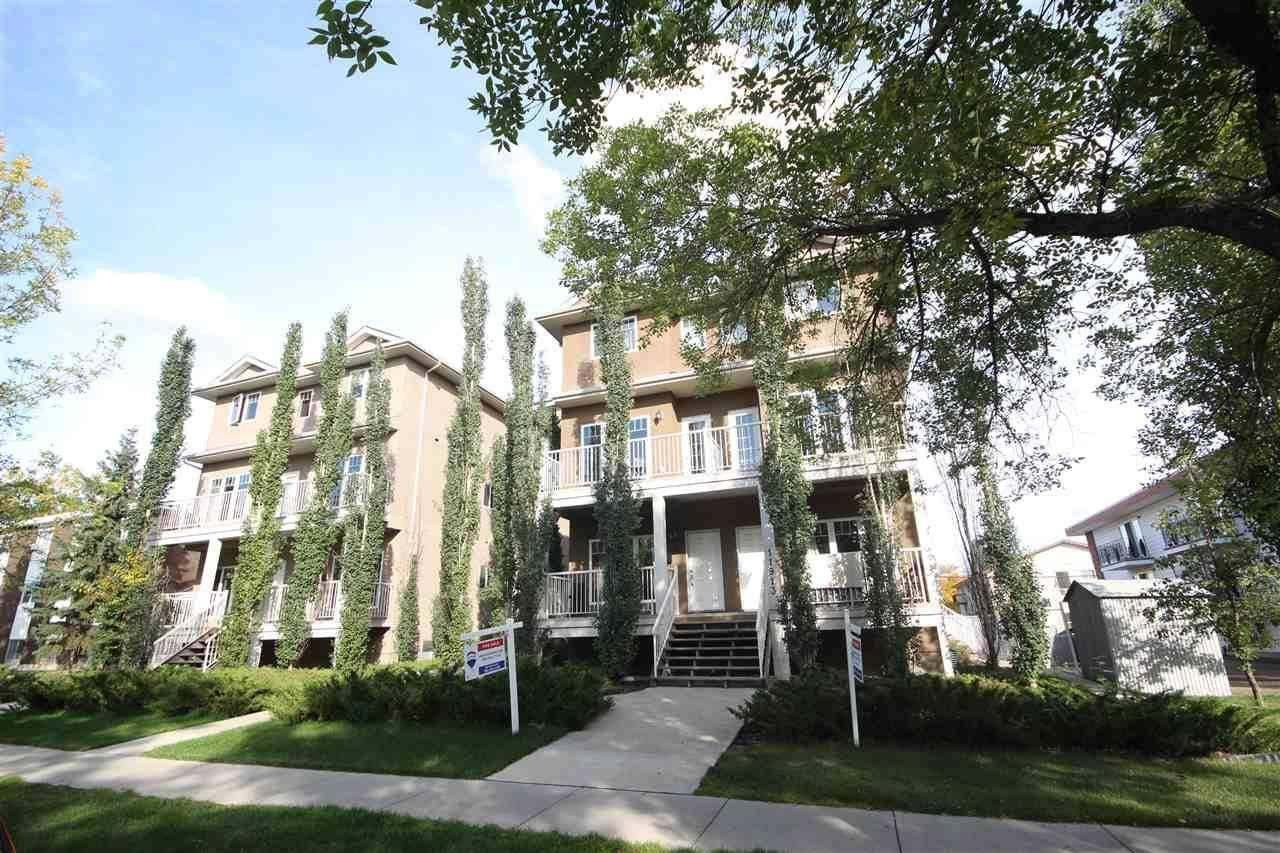 Townhouse for sale at 11913 103 St Nw Unit 6 Edmonton Alberta - MLS: E4168011