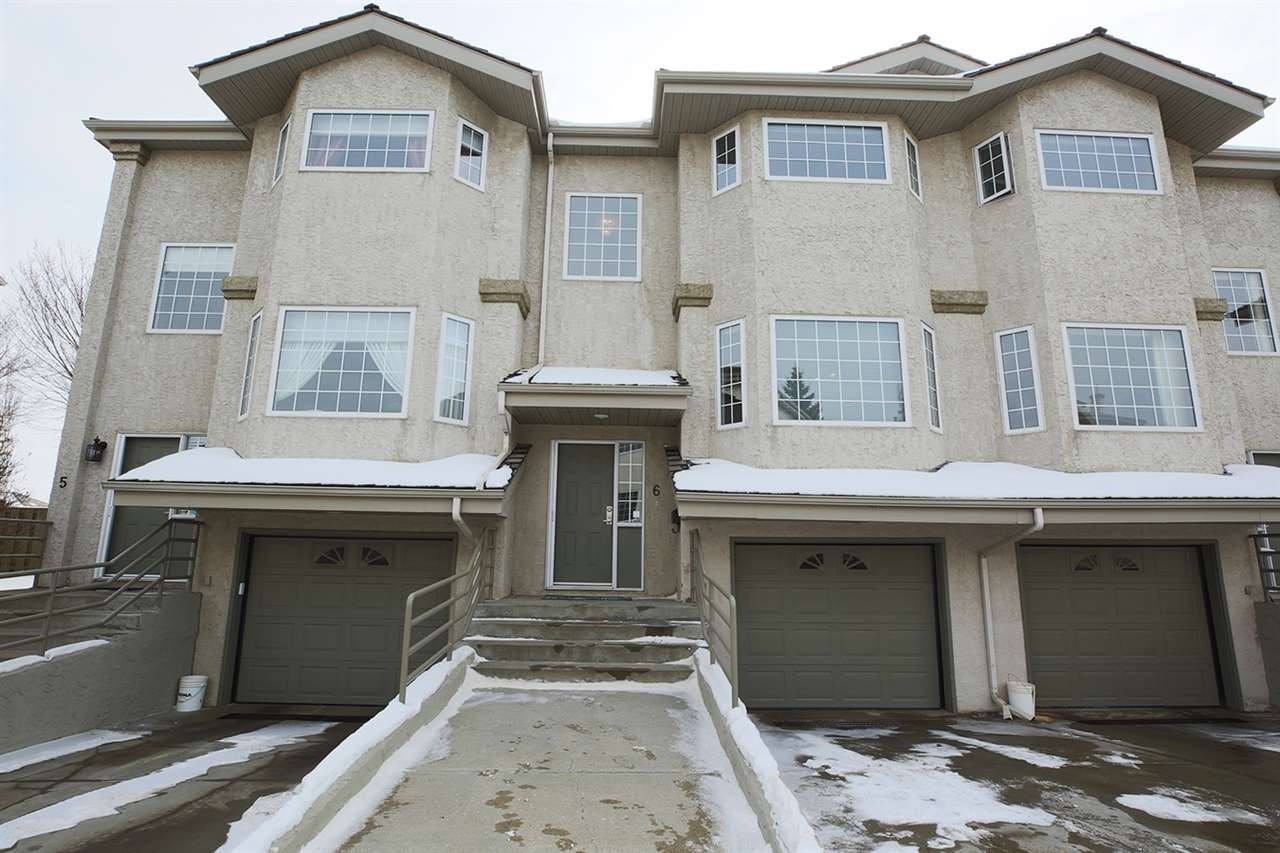 For Sale: 6 - 1295 Carter Crest Road, Edmonton, AB | 3 Bed, 3 Bath Townhouse for $318,000. See 29 photos!