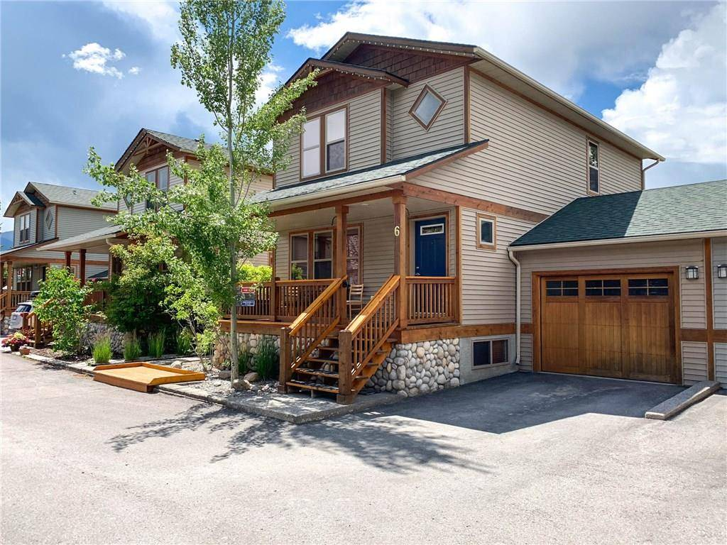 Townhouse for sale at 130 11th Ave Unit 6 Invermere British Columbia - MLS: 2438789
