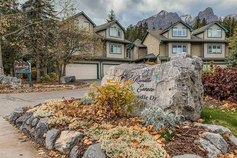 Townhouse for sale at 164 Rundle Dr Unit 6 Canmore Alberta - MLS: C4272271