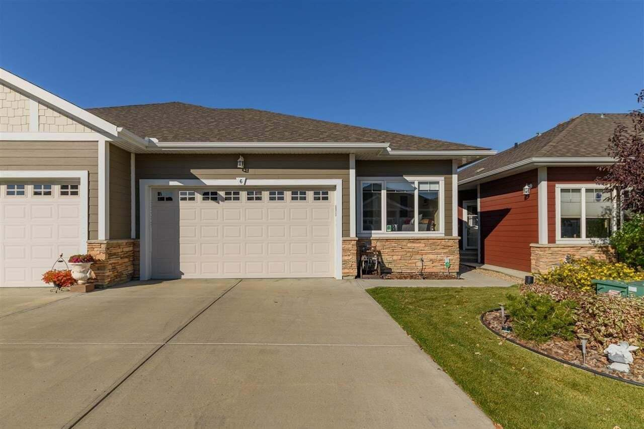 Townhouse for sale at 175 Mcconachie Dr NW Unit 6 Edmonton Alberta - MLS: E4216906