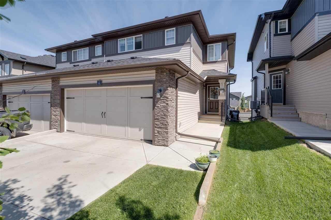 Townhouse for sale at 21 Augustine Cr Unit 6 Sherwood Park Alberta - MLS: E4203604