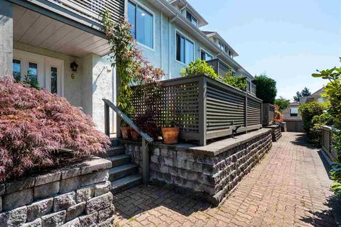 Townhouse for sale at 232 6th St E Unit 6 North Vancouver British Columbia - MLS: R2393967