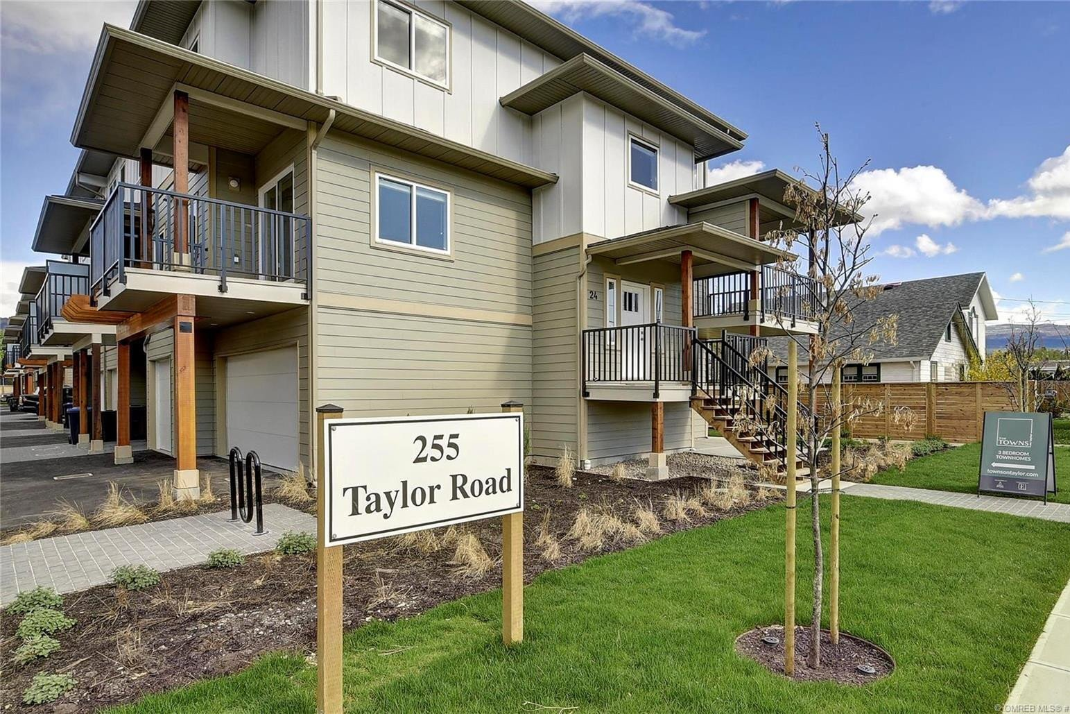 Townhouse for sale at 255 Taylor Rd Unit 6 Kelowna British Columbia - MLS: 10220123