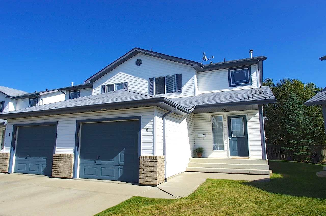 For Sale: 6 - 3 Grove Meadow Drive, Spruce Grove, AB   3 Bed, 2 Bath Townhouse for $255,000. See 21 photos!