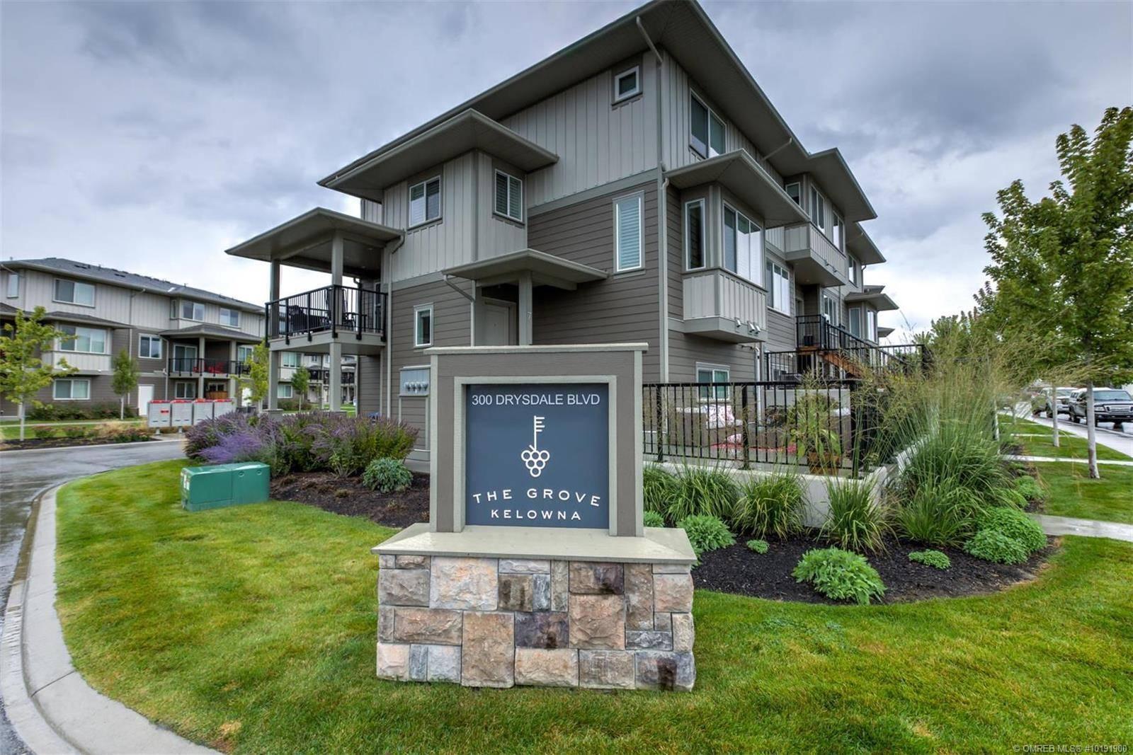 Townhouse for sale at 300 Drysdale Blvd Unit 6 Kelowna British Columbia - MLS: 10191900