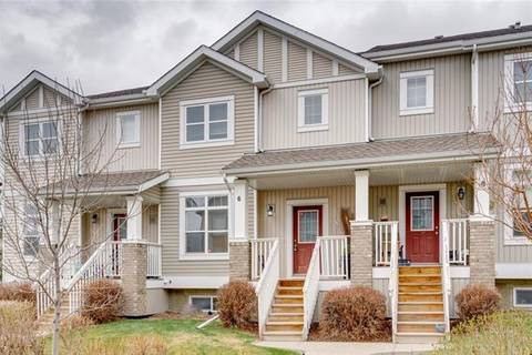 Townhouse for sale at 300 Evanscreek Ct Northwest Unit 6 Calgary Alberta - MLS: C4295771