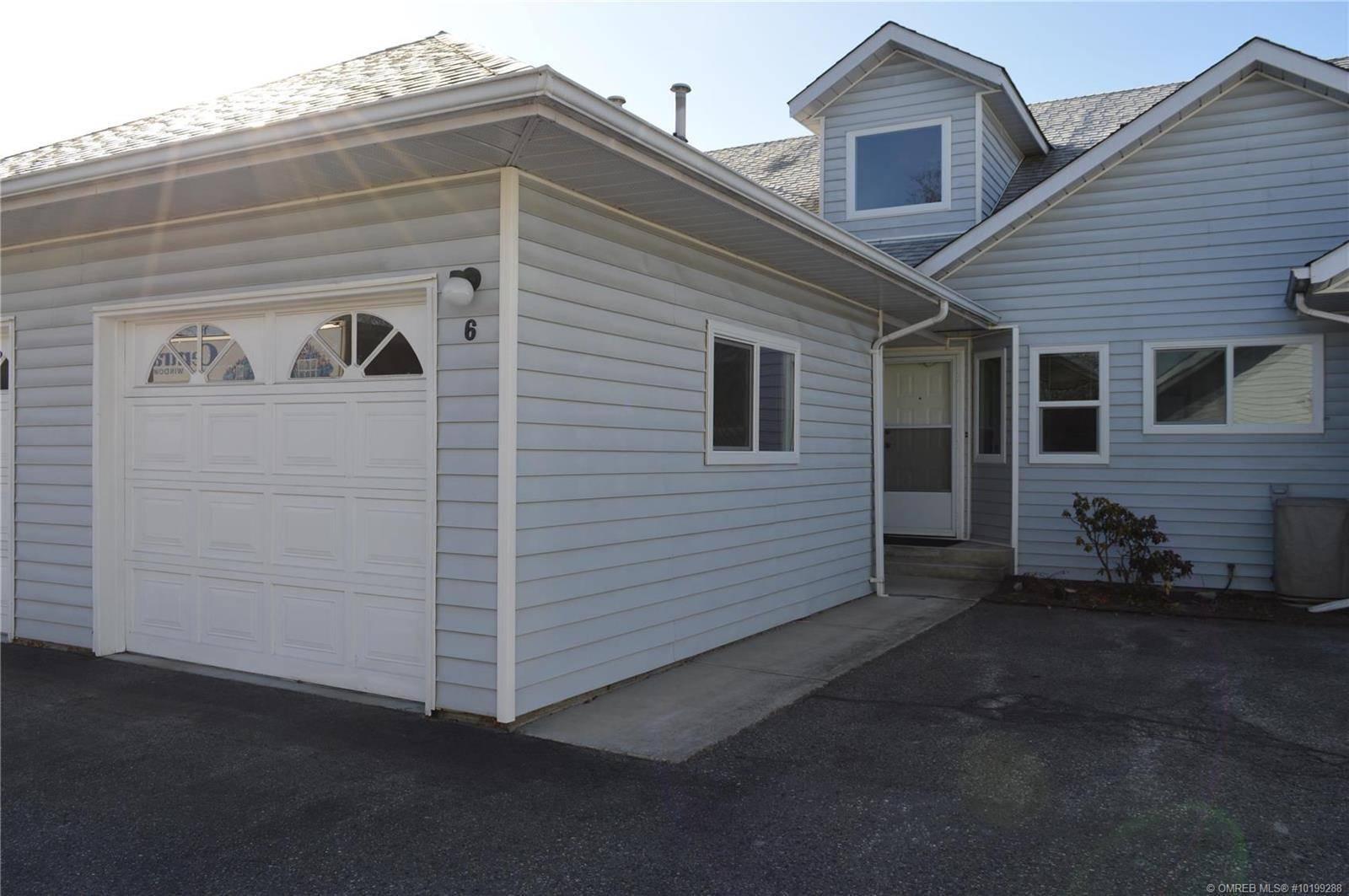 Townhouse for sale at 350 Davie Rd Unit 6 Kelowna British Columbia - MLS: 10199288