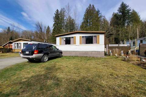 Home for sale at 3942 Columbia Valley Rd Unit 6 Cultus Lake British Columbia - MLS: R2354576