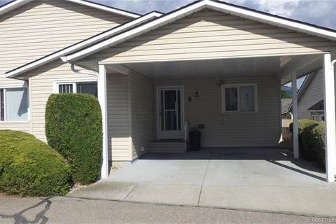 Townhouse for sale at 4600 Bella Vista Rd Unit 6 Vernon British Columbia - MLS: 10184396