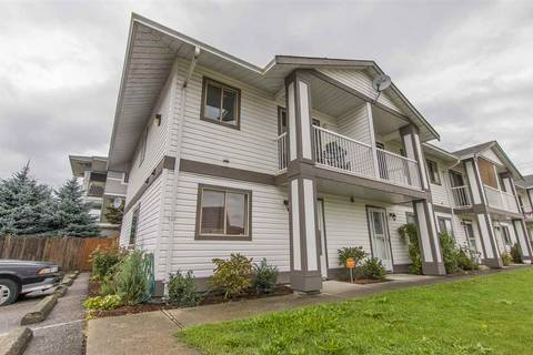 Townhouse for sale at 46294 First Ave Unit 6 Chilliwack British Columbia - MLS: R2405503