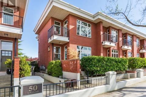 Townhouse for sale at 50 Dallas Rd Unit 6 Victoria British Columbia - MLS: 408167