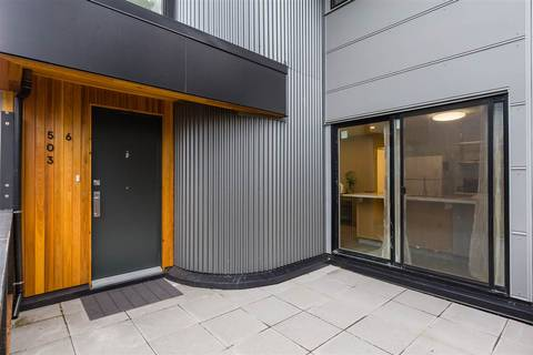 Townhouse for sale at 503 Pender St Unit 6 Vancouver British Columbia - MLS: R2349847