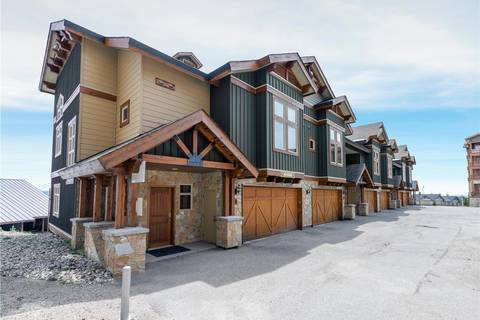 Townhouse for sale at 7700 Porcupine Rd Unit 6 Big White British Columbia - MLS: 10185937