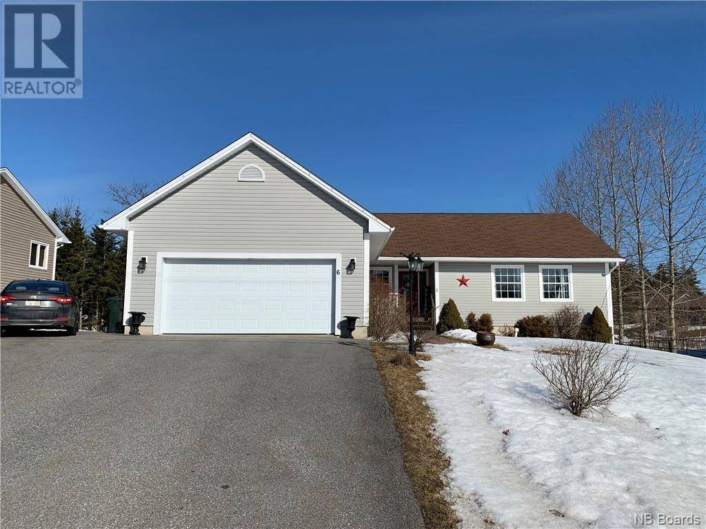 House for sale at 6 Alabaster Dr Quispamsis New Brunswick - MLS: NB041613