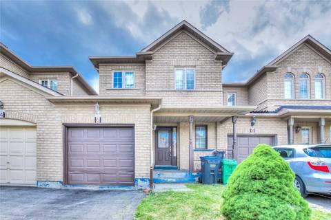 Townhouse for sale at 6 Arabia Gt Brampton Ontario - MLS: W4549238