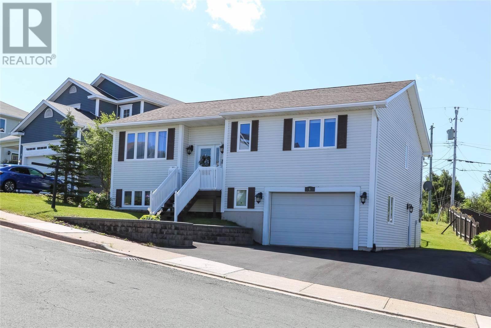 House for sale at 6 Ashbourne Dr St. John's Newfoundland - MLS: 1200786
