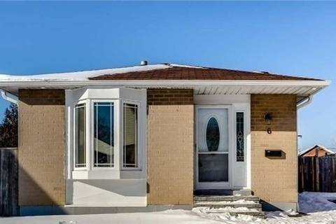 House for sale at 6 Bagwell Cres Toronto Ontario - MLS: W4515460
