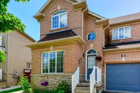 Townhouse for rent at 6 Beachsurf Rd Brampton Ontario - MLS: W4484366