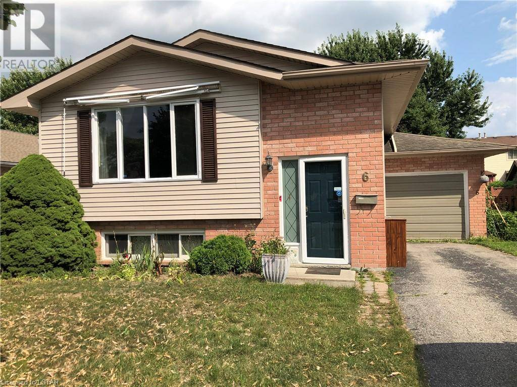 House for sale at 6 Bonaparte Ln London Ontario - MLS: 216747