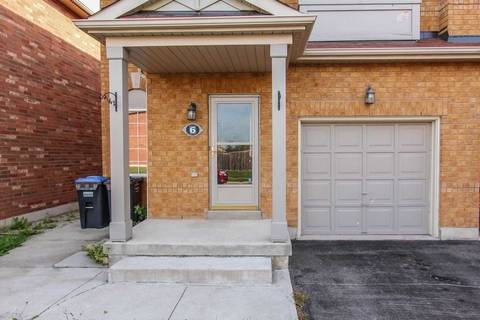 Townhouse for sale at 6 Commodore Dr Brampton Ontario - MLS: W4580698
