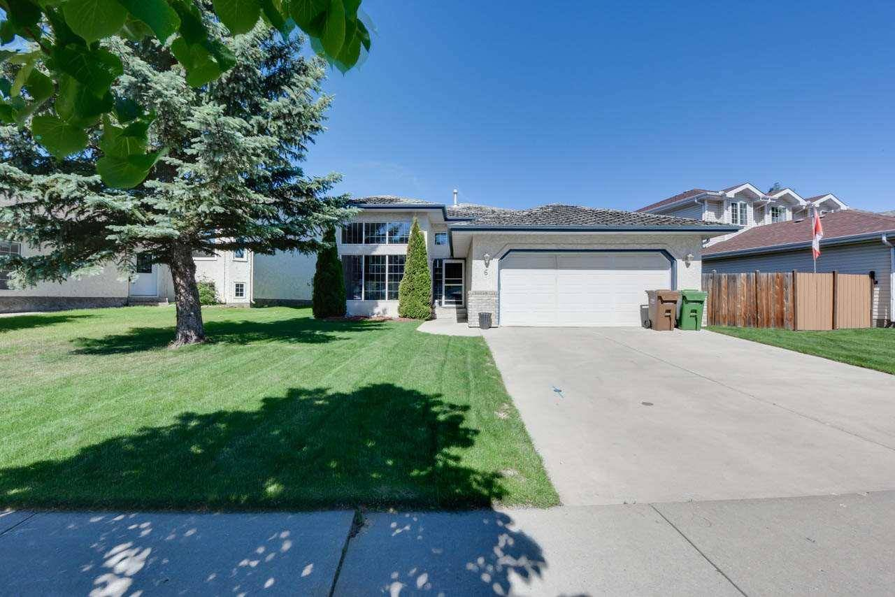 House for sale at 6 Delage Cres St. Albert Alberta - MLS: E4173583