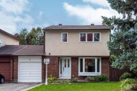 House for sale at 6 Dolan Dr Ottawa Ontario - MLS: 1212096