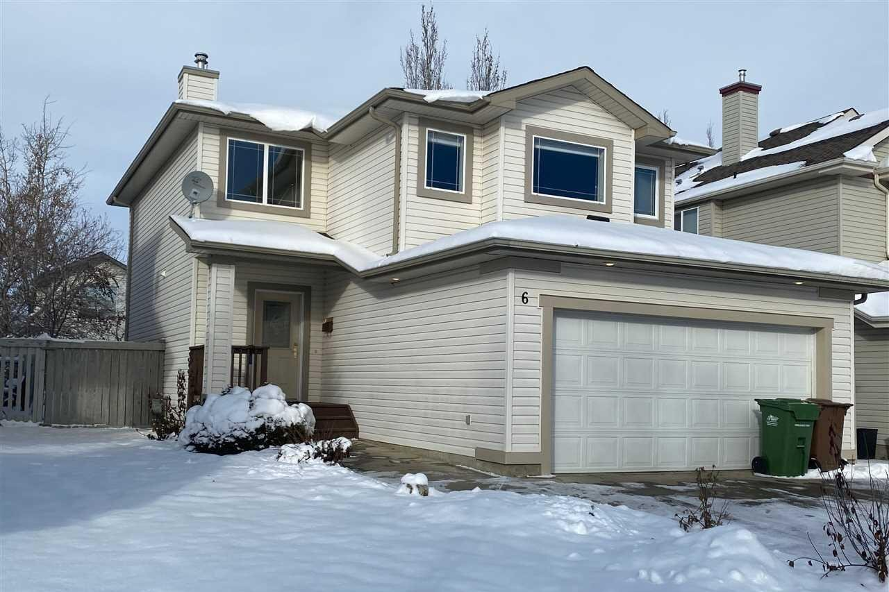 House for sale at 6 Escada Cl St. Albert Alberta - MLS: E4215096