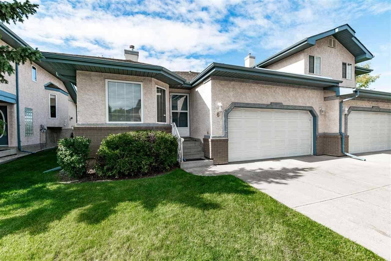 Townhouse for sale at 6 Estates Ct Sherwood Park Alberta - MLS: E4173958