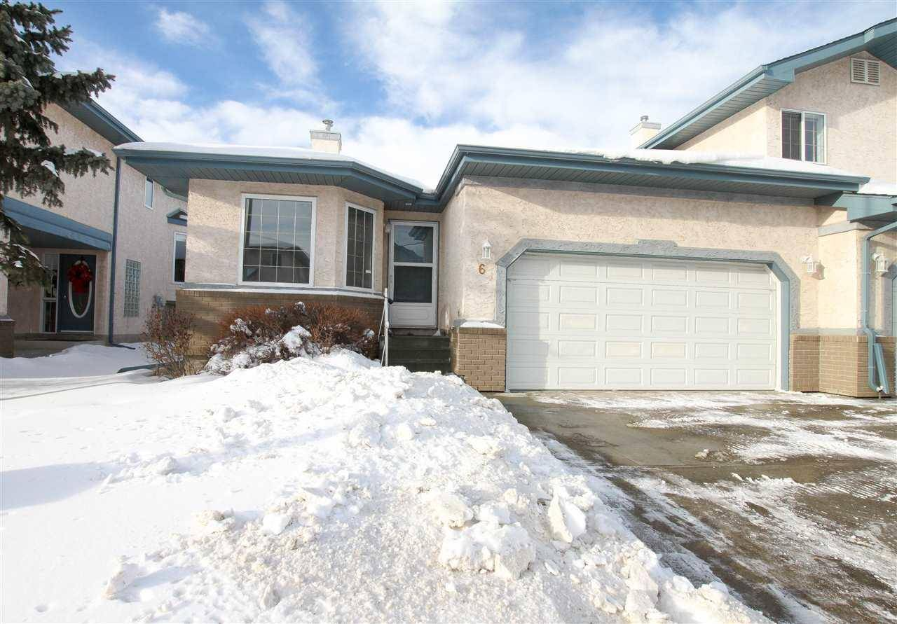 Townhouse for sale at 6 Estates Ct Sherwood Park Alberta - MLS: E4185166