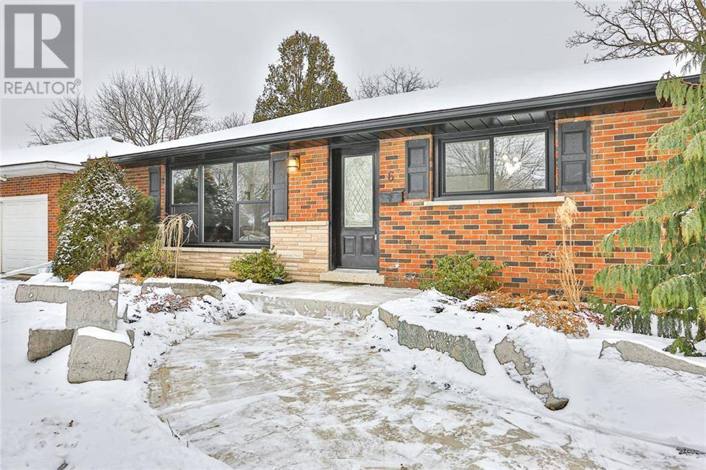 House for sale at 6 Hanson Blvd Brantford Ontario - MLS: 30789926