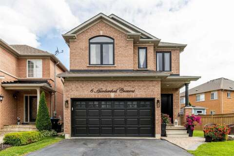 House for sale at 6 Humbershed Cres Caledon Ontario - MLS: W4897600