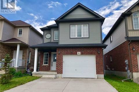 House for sale at 6 Iron Gate St Kitchener Ontario - MLS: 30744963