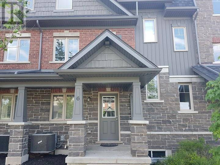 Townhouse for sale at 6 Isaiah Dr Kitchener Ontario - MLS: 30790713