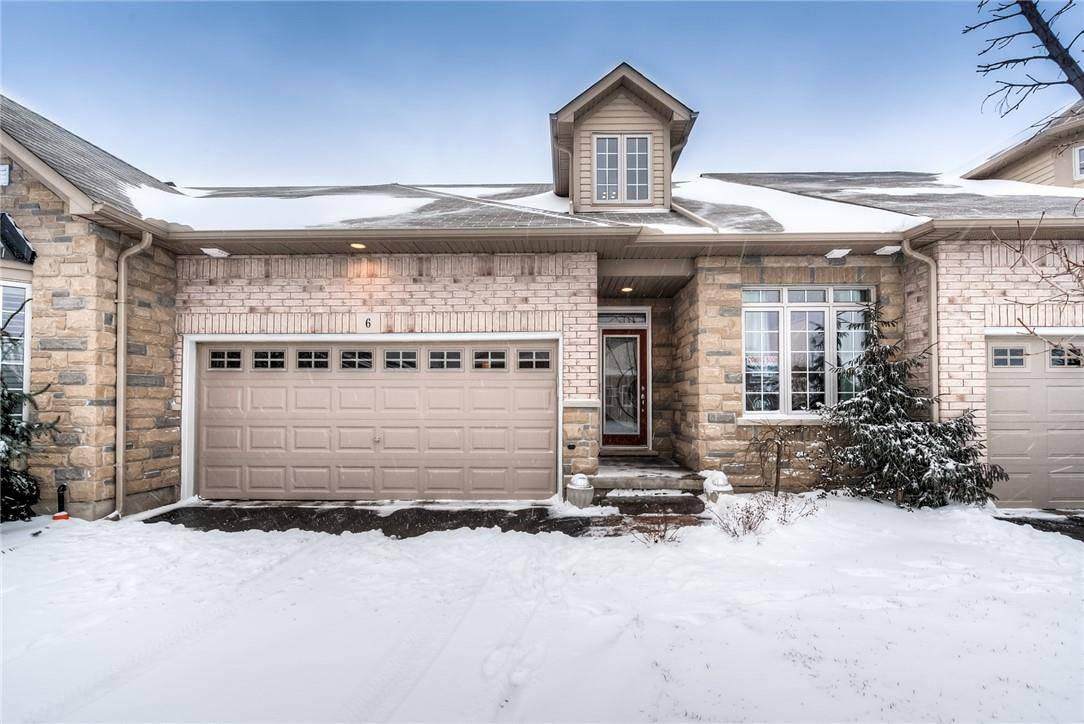 Townhouse for sale at 6 Kiltie Tr Glanbrook Ontario - MLS: H4072004