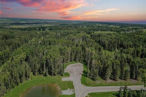 Residential property for sale at 0 32529 Range Road #52  Unit 6 Rural Mountain View County Alberta - MLS: C4258271