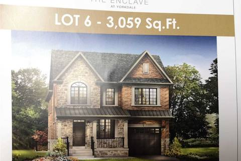 House for sale at Lot 6 Newst Off Jane Osler Rd Toronto Ontario - MLS: W4702834