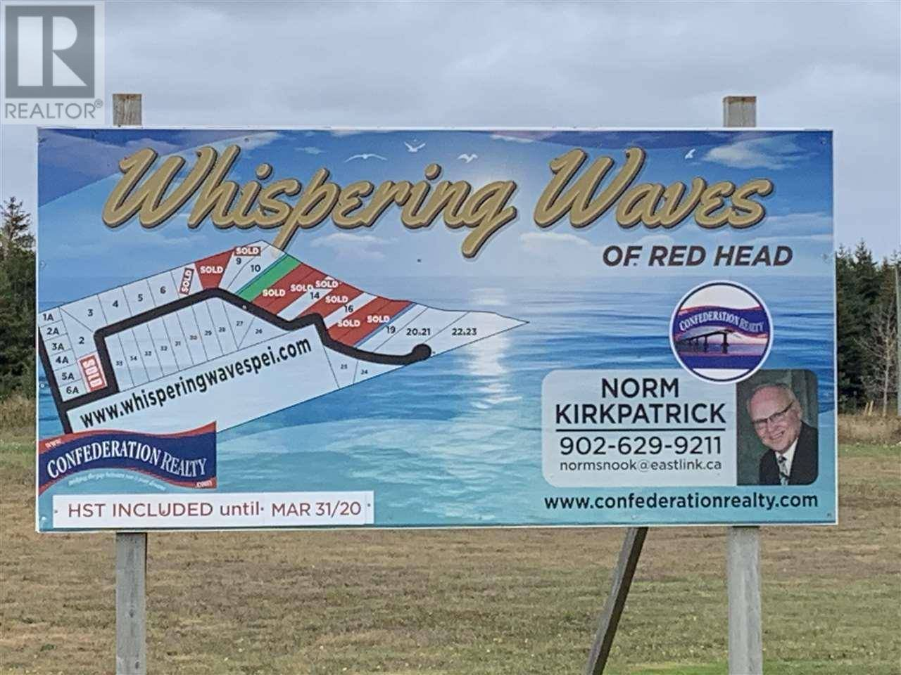 Residential property for sale at 6 Lot #s 34,5a-6a,5 & Red Head Rd & Dr Morell Prince Edward Island - MLS: 7103232