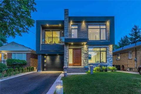 House for sale at 6 Northampton Dr Toronto Ontario - MLS: W4517951