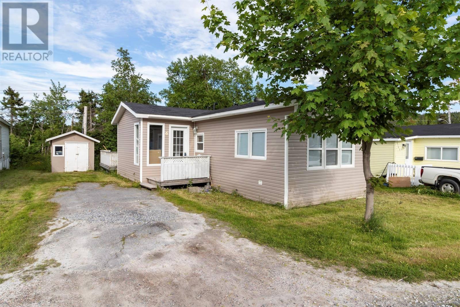 Residential property for sale at 6 Parkwood Ave Corner Brook Newfoundland - MLS: 1199234
