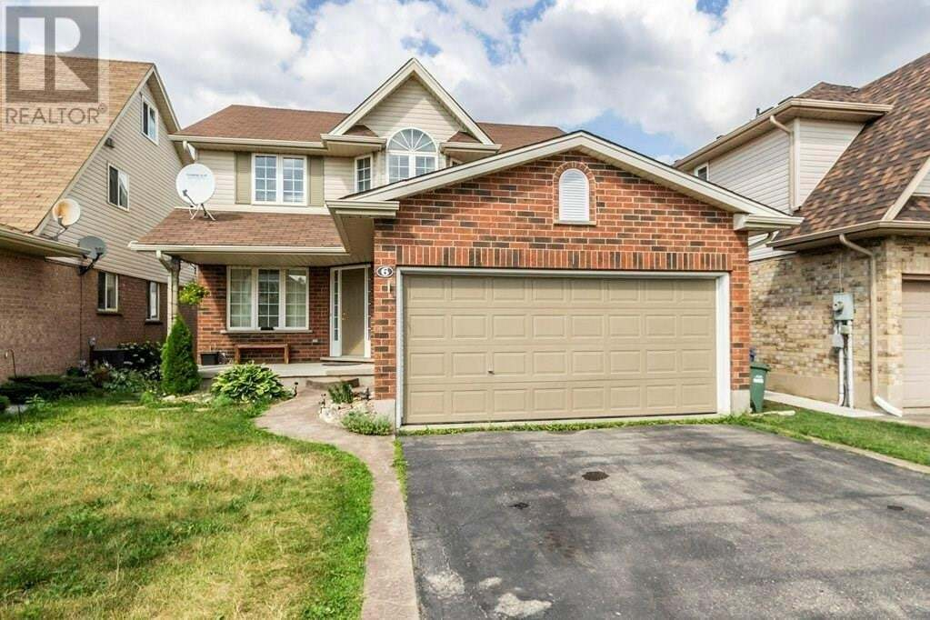 House for sale at 6 Paulstown Cres Guelph Ontario - MLS: 30816296