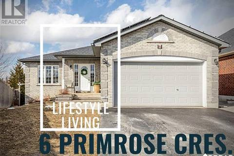 House for sale at 6 Primrose Cres Barrie Ontario - MLS: 30724564