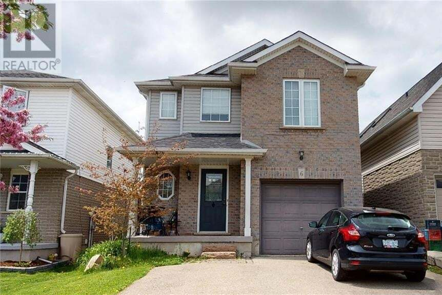 House for sale at 6 Raising Mill Gt Elmira Ontario - MLS: 30809341